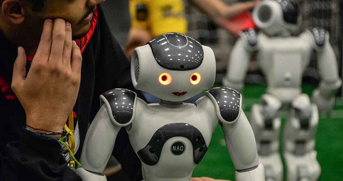 Os robôs continuam avançando