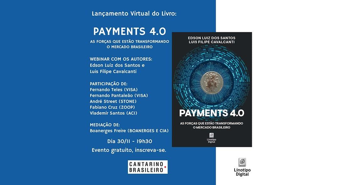 Livro discute a revolução dos pagamentos - lançamento reúne líderes da indústria em webinar