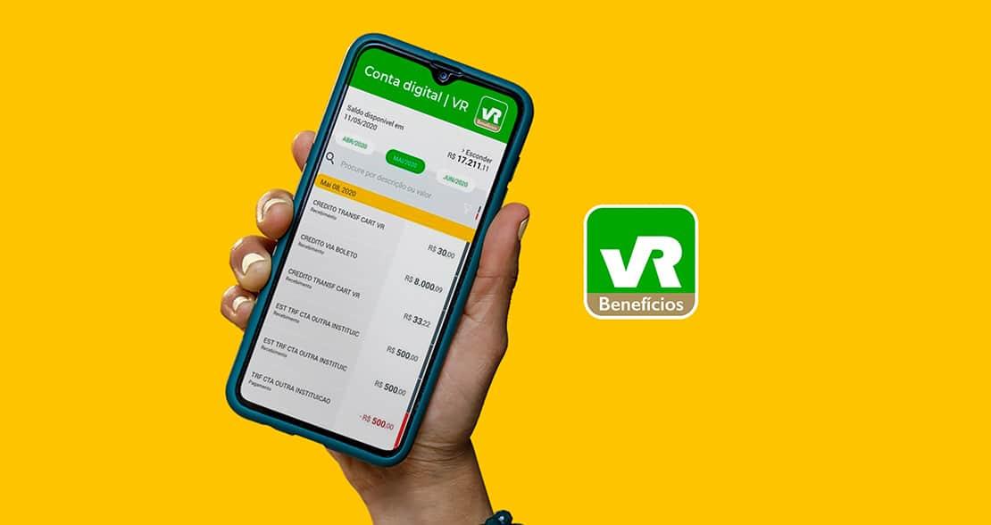 VR Benefícios lança conta digital para lojistas