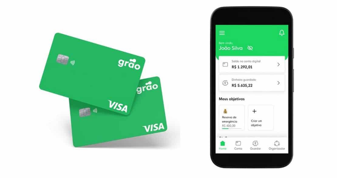 Fintech de microinvestimento lança conta digital Visa